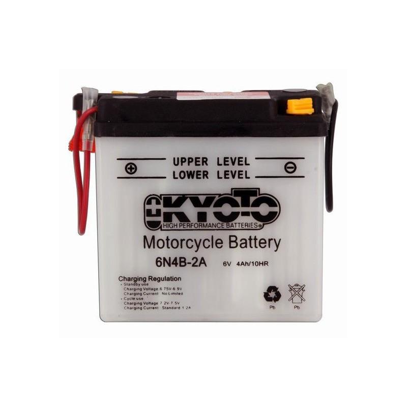 batterie moto 6v 4ah