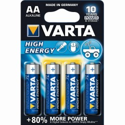 PILES VARTA HIGH ENERGY LR6 AA