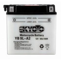BATTERIE MOTO 12V 9Ah YB9L-A2 / 12N9-4B-1 / 712098