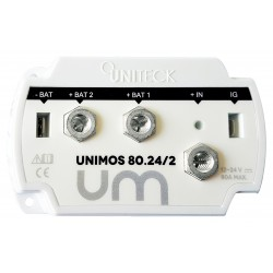 REPARTITEUR DE CHARGE 12/24V - 80A - 2 SORTIES UNIMOS 80.24/2