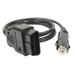 Câble OBD2 1,5 m (fusible 7,5 A)