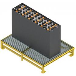 SUPPORT / TABLE BATTERIE FIXE POUR 1 BATTERIES 80V (1000x1200x220)