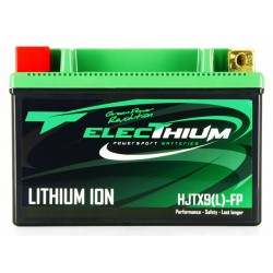 BATTERIE LITHIUM MOTO HJTX9(L)-FP 12.8V Electhium