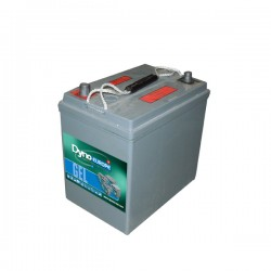 BATTERIE TRACTION MONOBLOC GEL 6V 185Ah-C20 / 151Ah-C5