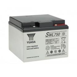 BATTERIE SWL750 YUASA AGM / VRLA 12V 25Ah-C20