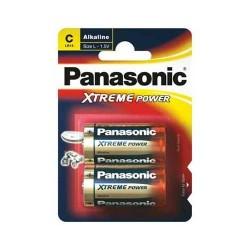 PILES PANASONIC LR14, C Blister de 2