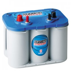 BATTERIE OPTIMA BLEU 12V 66Ah-845A