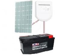 Batterie Solaire, Site isolé